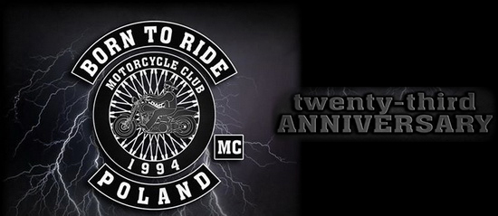 23 URODZINY BORN TO RIDE